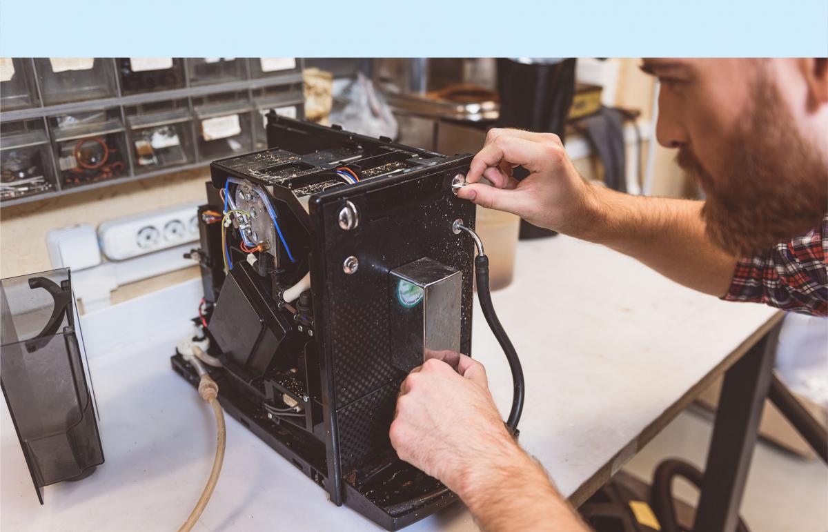 Elektro-Heeg Reparaturwerkstatt Kaffeemaschinen, Elektroleingeräte
